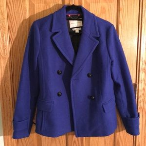 Banana Republic Italian Wool Peacoat